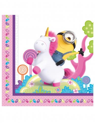 20 tovaglioli di carta unicorno con i Minions™
