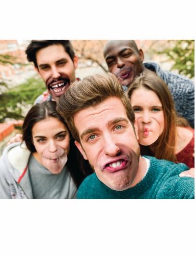 10 finte bocche umoristiche in cartone con smorfie-1