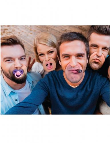 10 finte bocche umoristiche in cartone hipster-1