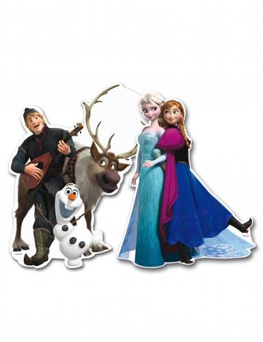 2 decorazioni per parete in cartone Frozen™