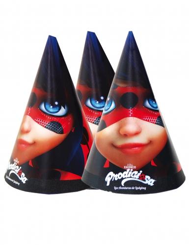 6 cappellini per festa Ladybug™