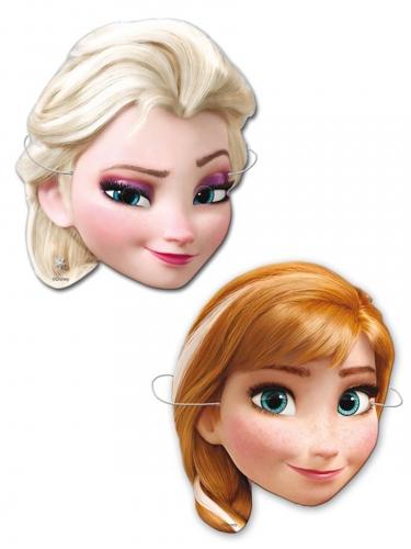 6 maschere in cartone Frozen™