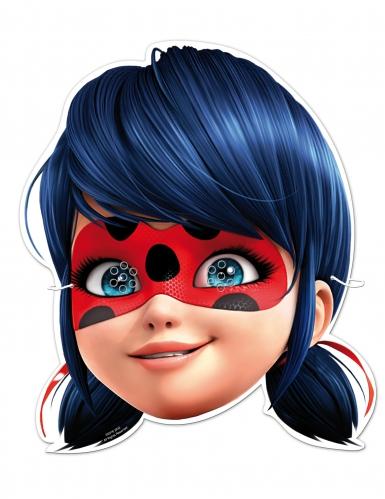 6 maschere in cartone Ladybug™