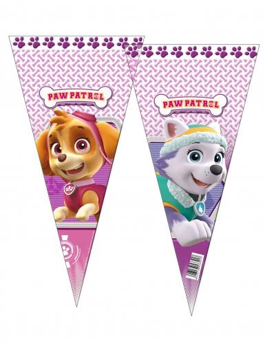 6 sacchetti per festa rosa Paw Patrol™