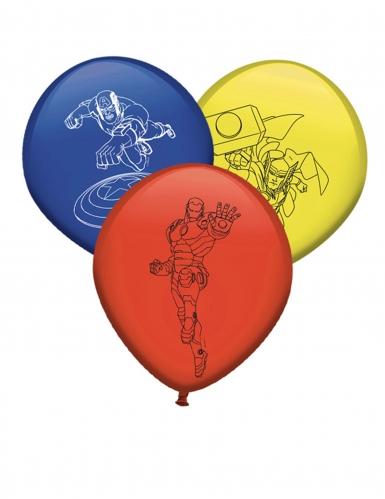 8 palloncini in lattice colorati Avengers™