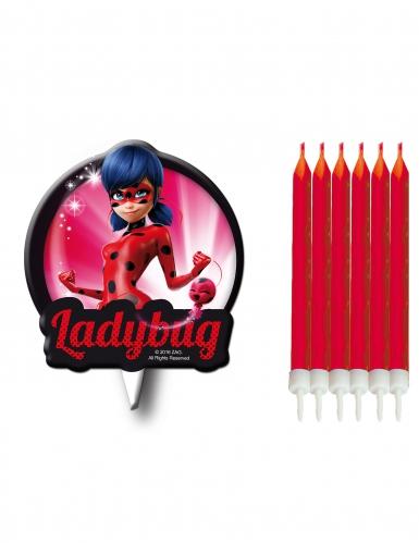 Candeline di compleanno con sagoma Ladybug™