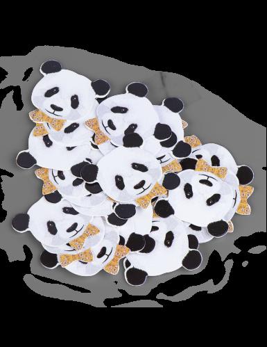 50 coriandoli da tavola panda