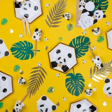 50 coriandoli da tavola panda-1