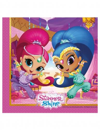 20 tovaglioli colorati Shimmer & Shine™