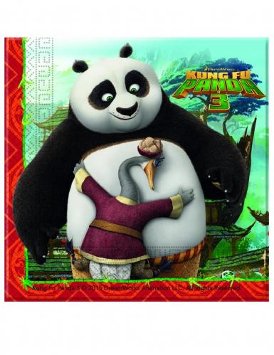 20 tovaglioli di carta Kung Fu Panda 3™