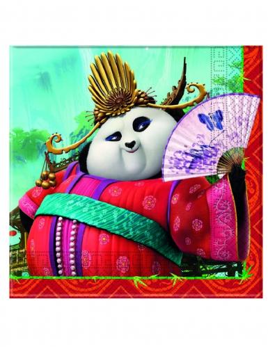 20 tovaglioli di carta Kung Fu Panda 3™-1