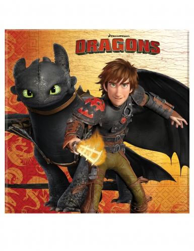 20 tovaglioli di carta Dragon Trainer™