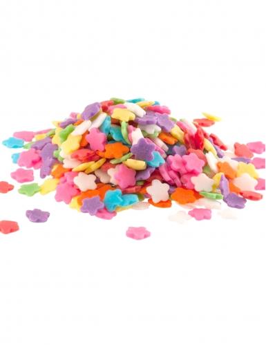 Coriandoli di zucchero fiori multicolor