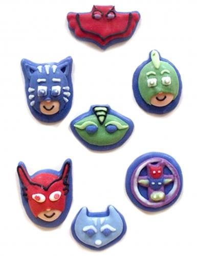 7 mini decorazioni di zucchero 2D Super Pigiamini™
