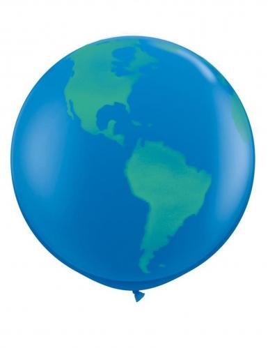Palloncino gigante in lattice pianeta Terra