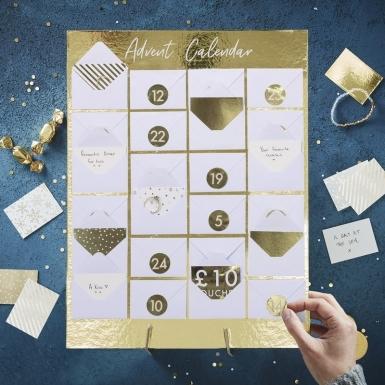 Calendario dell'Avvento personalizzabile con bustine-1
