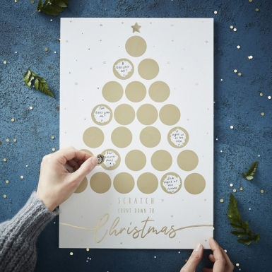 Calendario dell'Avvento personalizzabile da grattare-1