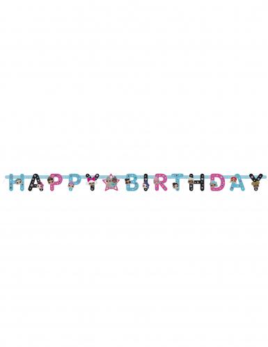 Ghirlanda di cartone Happy Birthday LOL Surprise™