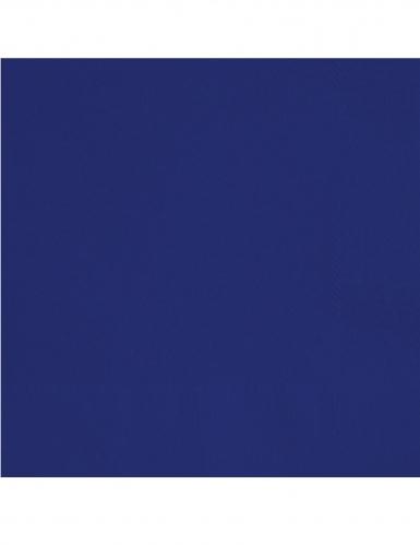 20 tovagliolini di carta blu scuro