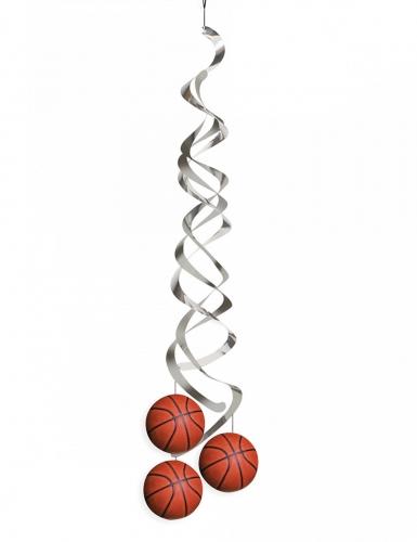 2 sospensioni a spirale con palloni da basket
