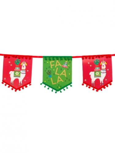 Ghirlanda in cartone lama natalizio