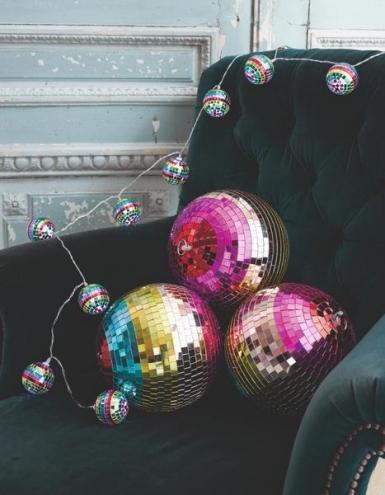 Ghirlanda luminosa sfere disco multicolor-1
