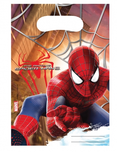 6 sacchetti per festa The Amazing Spiderman™