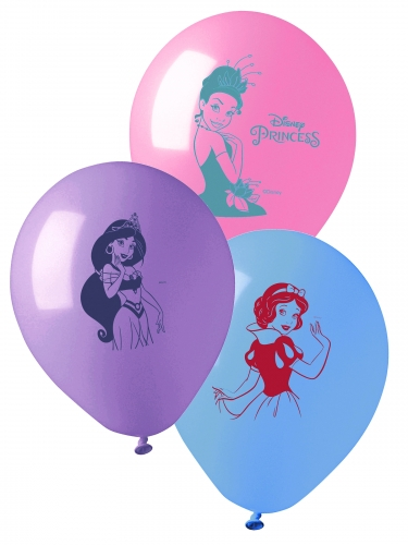 10 palloncini in lattice colorati Principesse Disney™