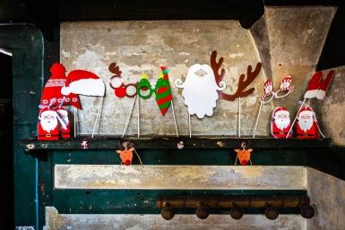 Kit photobooth 9 accessori tema Natale-1