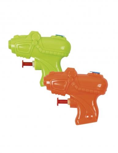 2 mini pistole ad acqua colorate