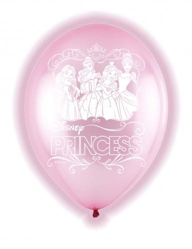 5 palloncini a LED Principesse Disney™
