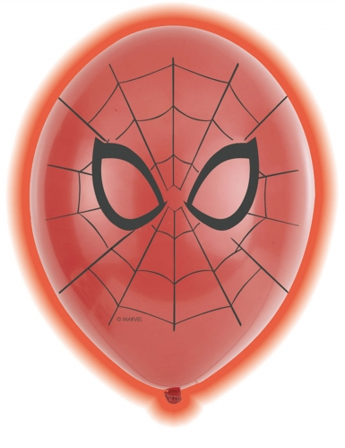5 palloncini a LED Spiderman™