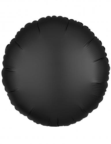 Palloncino alluminio rotondo nero
