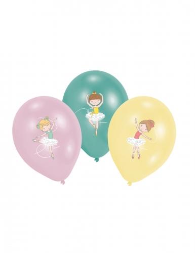 6 palloncini colorati piccola ballerina