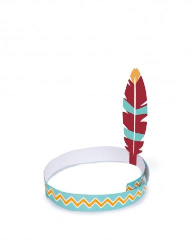4 fasce per la testa tribù indiani