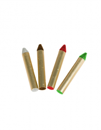 4 matite trucco a tema indiani