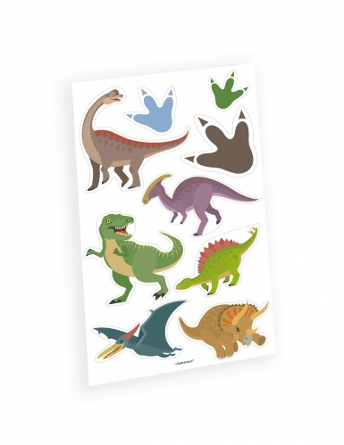 Tatuaggi temporanei grandi dinosauri