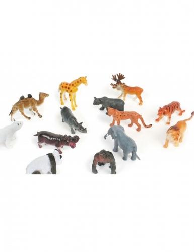 Mini animale dello zoo in plastica