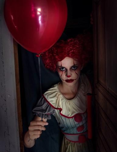 Costume clown psicopatico donna -1