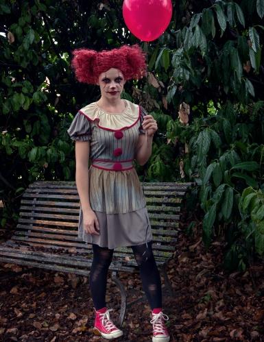 Costume clown psicopatico donna -2