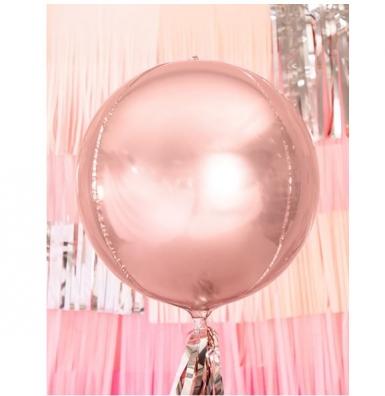 Palloncino oro rosa metallizzato-1
