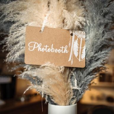 Pannello in cartone Photobooth con pizzo-1