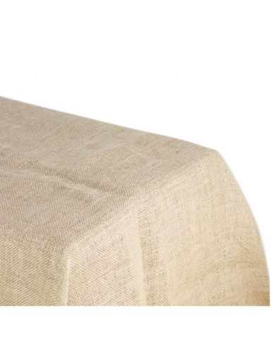 Tovaglia in tela di iuta rettangolare