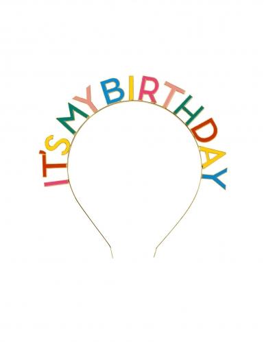 Cerchietto It's my birthday per adulto