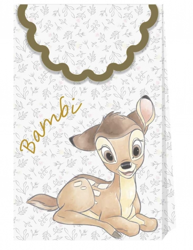 6 sacchetti di carta premium Bambi™