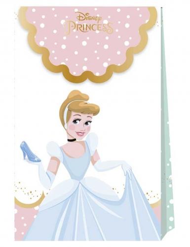 6 sacchetti di carta premium Principesse Disney™