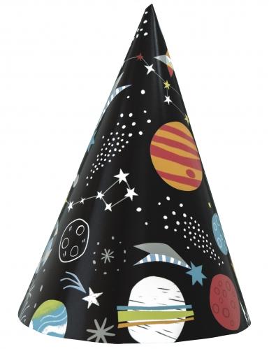 8 cappellini per festa universo