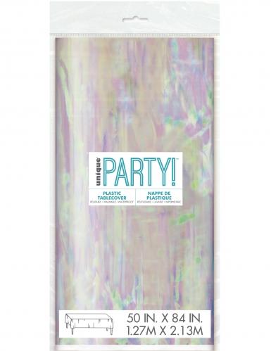 Tovaglia di plastica iridescente