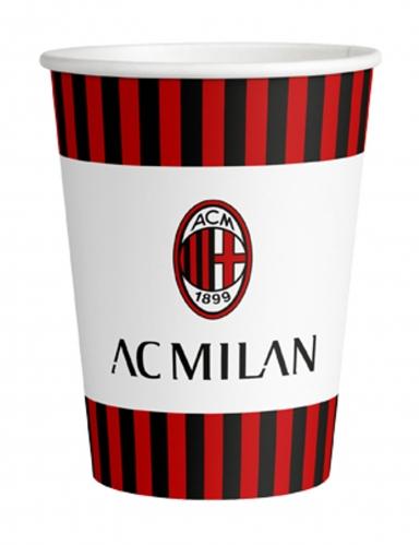 8 bicchieri in cartone Milan™