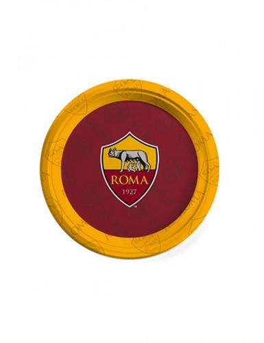 8 piattini in cartone Roma™ 18 cm